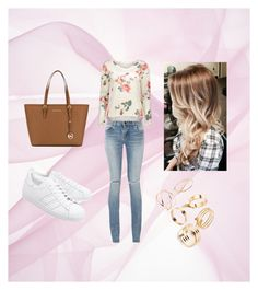 """""""Untitled #32"""" by svea-design on Polyvore featuring Yves Saint Laurent, adidas Originals and MICHAEL Michael Kors"""