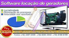 Software para locação de geradores e bancos de cargas
