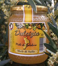 """Miele """"Dulcizia"""" di Sulla.  Azienda produzione: Olicoop"""