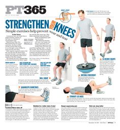 Military times - knee strengthening exercises