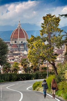 the road to Florence