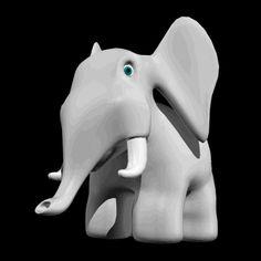 Gif de elefante