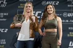 Miesha Tate doesn't mind the fact that she's fighting Holly Holm, and not Ronda Rousey, for the UFC title. Ufc 196, Ufc Titles, Holly Holm, Miesha Tate, Mma Boxing, Ronda Rousey, Martial Arts, Interview, Sexy Women