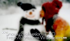Snowy Collection of 40+ Fresh Christmas Wallpapers