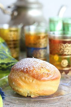 Cindystar: Komaj - Persian Turmeric and Cumin Bread Iranian Cuisine, Iranian Food, Arabic Dessert, Arabic Food, Arabic Sweets, Persian Desserts, Persian Recipes, Indian Dessert Recipes, Middle Eastern Recipes