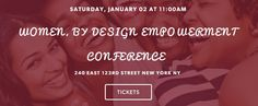 A Little Audacity will be sponsoring the Women, By Design Empowerment Conference on Saturday, January 2, 2016 at 11:00AM (EST), at the Harlem Repertory Theatre in New York City. Some of the guest speakers will include Selena Hill, Founder of Let Your Voice Be Heard! Radio, Damali Elliott, Founder of Petals-N-Belles, and Dariana Colon-Bibb, Founder and CEO of Rebelle Agency. Tickets are only $20! Get yours today.