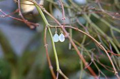 You could win these earrings! Aqua Chalcedony in Vermeil Cute Jewelry, Giveaway, Dandelion, Aqua, Charmed, Earrings, Flowers, Blog, Beauty