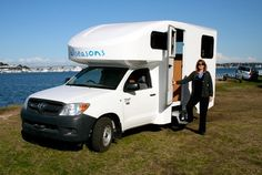 All Seasons Motorhome - 4 Berth with Toilet & Shower