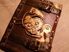 Steampunk notebook by ~ChanceZero on deviantART