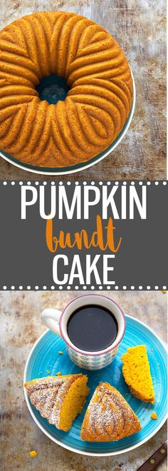Easy Pumpkin Bundt Cake- Perfectly moist, soft, tender, and bursting with fall flavors! via /easyasapplepie/