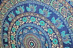 Mandala+Tapestries+Hippie+Tapestries+Tapestry+Wall+by+LavishJaipur,+$16.99