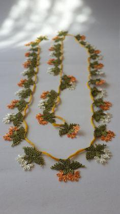 turkish oyacrochet flower edgeshawl flower edge edge by EnjOOya