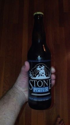 Stone Brewing Company's Smoked Porter once again proves how well they have mastered their craft.