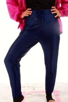 Vintage 80s Ski Pants  | Get your vintage ski gear and all manner of outrageous threads at Shinesty.com