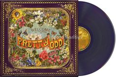 PANIC AT THE DISCO PRETTY ODD MAROON VINYL LP FEVER YOU CANT VICES AND VIRTUES