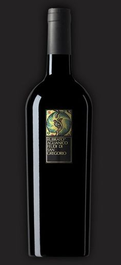 RUBRATO AGLIANICO RED WINE - FEUDI DI SAN GREGORIO In the heart of Irpinia originates Rubrato, a wine that expresses the pleasure of Aglianico in its youth.