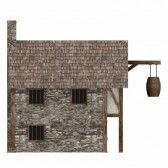 3d Render Of Medieval Building Royalty Free Stock Photo, Pictures, Images And Stock Photography. Image 13746050.