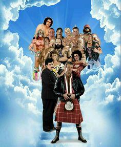 ( 2016 † IN MEMORY OF ) - WWE Legends Rip