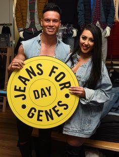 #SophieKasaei #JoelCorry #JeansforGenes #JeansforGenesDay