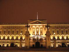 Buckingham Palace at Night Buckingham Palace at Night