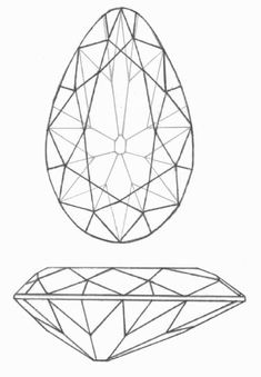 For jewel painting challenge reference The Tereschenko Diamond Jewellery Sketches, Jewelry Drawing, Jewelry Art, Jewelry Design, Gem Drawing, Crystal Drawing, Jewelry Illustration, Black And White Lines, Jewelry