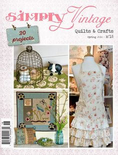 The NEW Spring 2016 issue of Simply Vintage Magazine is now at the shop