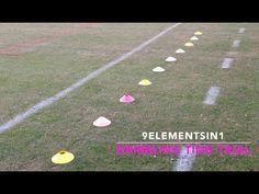 Soccer Dribbling Time Trial   9ElementsIn1   YFutbol - YouTube