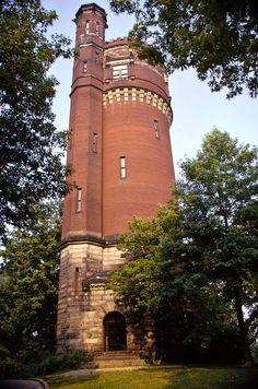 Eden Park Water Tower - photo by mgsmith, via Flickr;  Cincinnati, Ohio ...