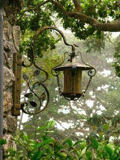 Lovely old lamp