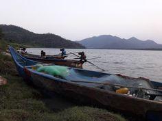 Godavari River, Boat, Dinghy, Boats, Ship