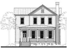 Allison Ramsey Architects | Floorplan for Fox Meadow V - 2304 sqaure foot house plan # C0392
