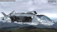 Pierre Drolet Sci-Fi Museum - Phoenix Air Force
