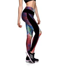 66dbac23f1a34 ATTITUDE ATHLEISURE HIGH WAIST PRINTED LEGGINGS. High Quality Breathable  New Style Leggings