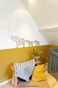 Baby Room Decor, Nursery Room, Boy Room, Kids Bedroom, Forest Baby Rooms, Baby Boy Nursey, Safari Bedroom, Tape Wall Art, Yellow Nursery