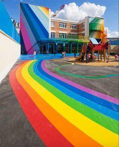 Un jardín infantil que debería ser imitado en todo el mundo