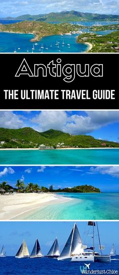 The Ultimate Antigua Travel Guide. Find out the top things to do, where to stay, where to eat and drink, and some insider information to help you plan your holiday to Antigua in the Caribbean. https://www.wanderlustchloe.com/antigua-travel-guide-caribbean