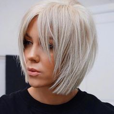 Stunning Medium Layered Bob Hairstyle For Every Woman medium layered bob hairstyle;bob hairstyles for fine hair;short hairstyle trending hairstylesmedium layered bob hairstyle;bob hairstyles for fine hair;short hairstyle trending hairstyles Bob Hairstyles For Fine Hair, Layered Bob Hairstyles, Short Pixie Haircuts, Trending Hairstyles, Pixie Hairstyles, Short Hairstyles For Women, Short Hair Cuts, Black Hairstyles, Pretty Hairstyles