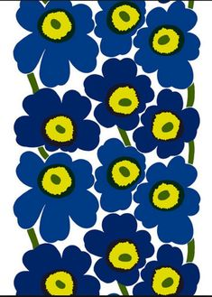 Marimekko Unikko Notebook This Marimekko notebook makes a delightful gift for a friend but is also practical to have on hand yourself. It features Maija Isola's Unikko (Poppy) pattern on the front and back covers, while the ins. Textile Pattern Design, Textile Patterns, Fabric Design, Print Patterns, Floral Patterns, Marimekko Wallpaper, Marimekko Fabric, Pattern Wallpaper, Pottery Cafe