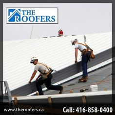 The roofers provide 24/7 Emergency roof repair services to the clients. For any roofing problem call us on 416 858 0400.