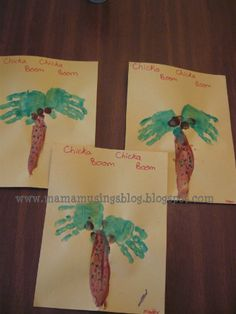 chicka chicka boom boom activities | ... of activities to do after reading the book Chicka Chicka Boom Boom
