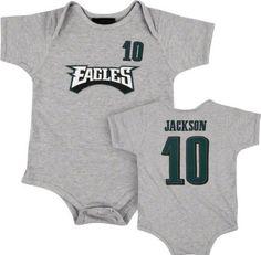Desean Jackson Gray Philadelphia Eagles Infant « Clothing Impulse