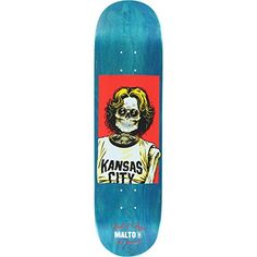 """Girl Sean Malto Skull of Fame Skateboard Deck - 8.12"""" x 31.63"""" - http://shop.dailyskatetube.com/product/girl-sean-malto-skull-of-fame-skateboard-deck-8-12-x-31-63/ -  This professional quality Girl Skull of Fame Deck measures 8.12"""" width x 31.63"""" length and is suitable for every skill level from beginner to pro. A versatile standard deck that's perfect for street, pool, park and vert, it's solidly constructed from high-quality 7-ply North American maple and is -"""