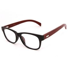 Unique New Arrivals Handmade Wooden Glasses Frames Natural Wood Vintage Eyeglasses Frame Clear Lens For Men And Women Retail #Affiliate