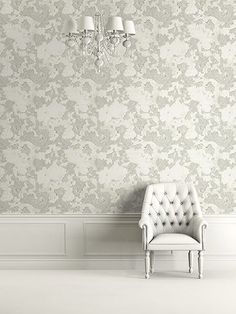 One Allium Way Piche Floral Plaster x Wallpaper Roll Beige Wallpaper, Paper Wallpaper, Striped Wallpaper, Print Wallpaper, Textured Wallpaper, Wallpaper Roll, Wallpaper Ideas, Design Repeats, French Country Style