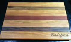 Closing gifts - family last name engraved on a custom made cutting board #maccuttingboards@gmail.com
