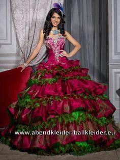 Weinrotes Ballkleid Abendkleid Brautkleid Mit Applikationen