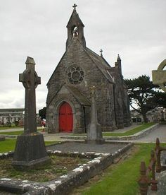 Irish Cemetary church