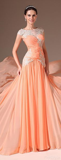 eDressit Evening Gown with Train