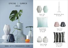 Spring | Summer 2014 | House Doctor | www.stylingandco.com | http://www.stylingandco.com/c-2405072/poederpastel/