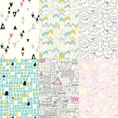 Cloud9 Fabrics Voile Collection – Lisa Congdon Art + Illustration